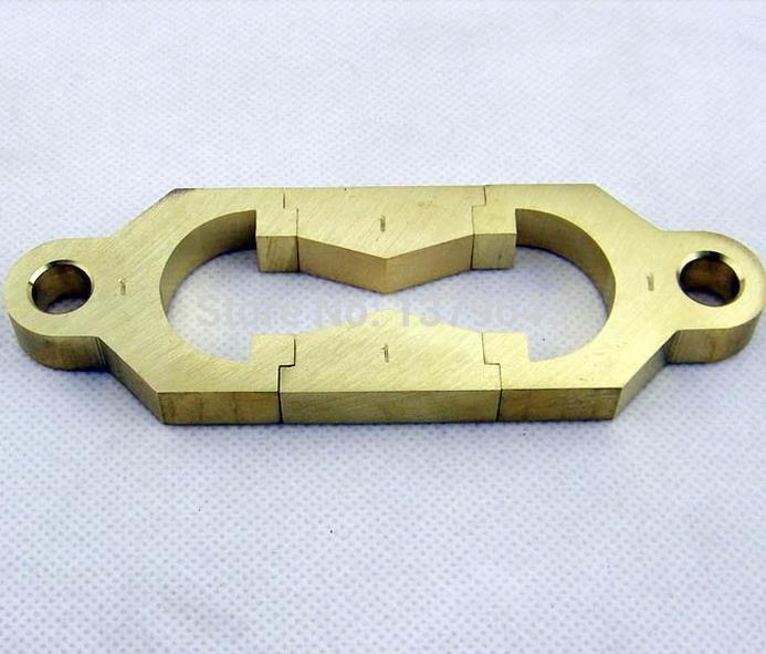 Асфальтовый битум шаг пластичность машина дезагибация пробная испытательная форма медная латунь 8 плесень
