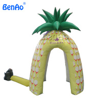 R01 BENAO Free shipping Advertising Inflatable pineapple fruit arch entrance/ inflatable pineapple/tent Replica promotion