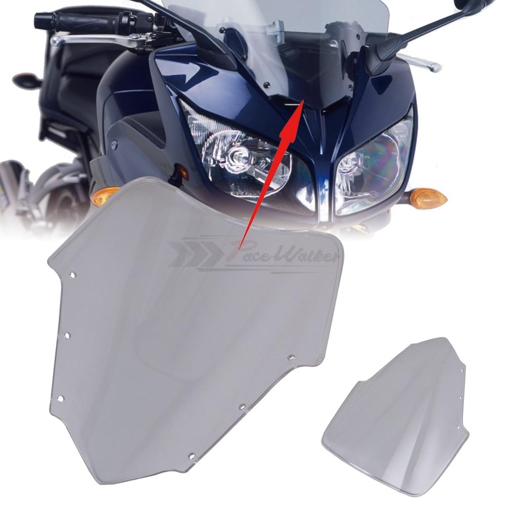 Image 4 - For Yamaha FZ1 Fazer FZ1S FZS1000S Bike Motorcycle Motorbike Windshield/Windscreen Transparent 2006 2011 2007 2008 2009 2010-in Windscreens & Wind Deflectors from Automobiles & Motorcycles