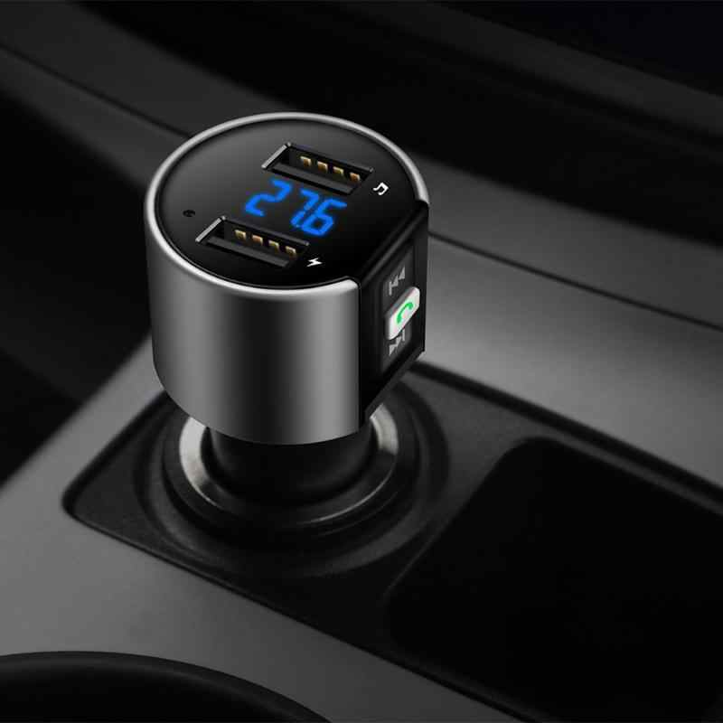 Vodool салона Bluetooth рук-свободный fm-передатчик 3.4a Dual USB Порты и разъёмы автомобиля Зарядное устройство MP3 аудио плеер Bluetooth гарнитура для авто