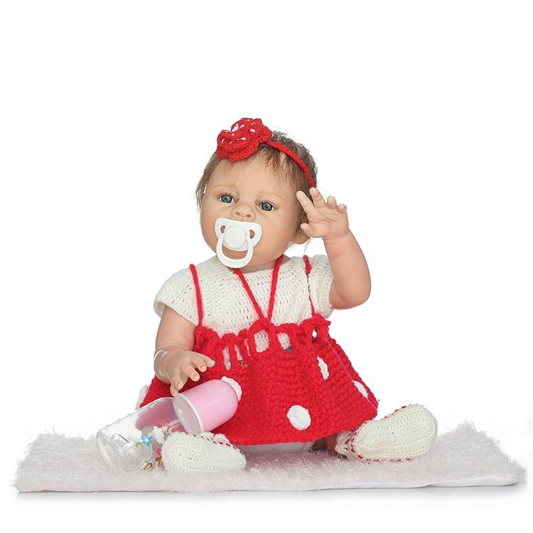 2050cm Full Body Silicone Reborn  Babies  Doll bonecas adorable toddler  alive  bebe best  Xmas Birthday Gift Present Bathe Toy2050cm Full Body Silicone Reborn  Babies  Doll bonecas adorable toddler  alive  bebe best  Xmas Birthday Gift Present Bathe Toy