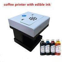 אמנות מדפסת דיו אכיל משקאות קפה קפה מזון ומשקאות מכונת הדפסת מדפסת עם דיו אכיל 4colors * 100 ml
