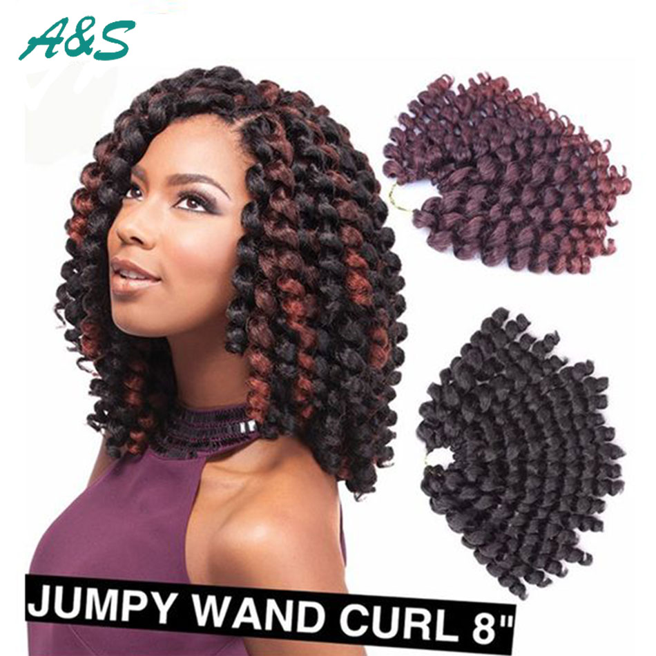 Black Friday Full wand curl crochet hair crochet braids ...