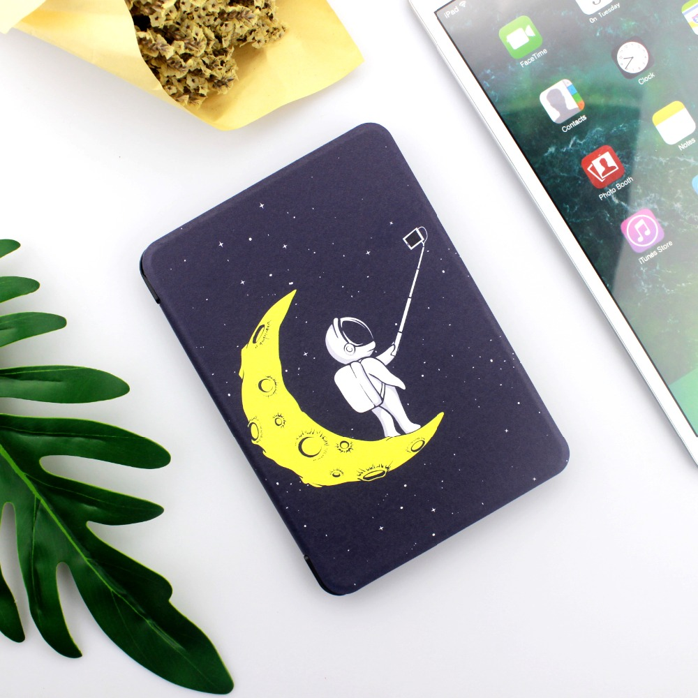 2018 All-new Kindle Paperwhite 4 2018 10th Generation Ereader Case PU Leather Protective Slim Cover(Doesn't Fit Paperwhite 1 2 3