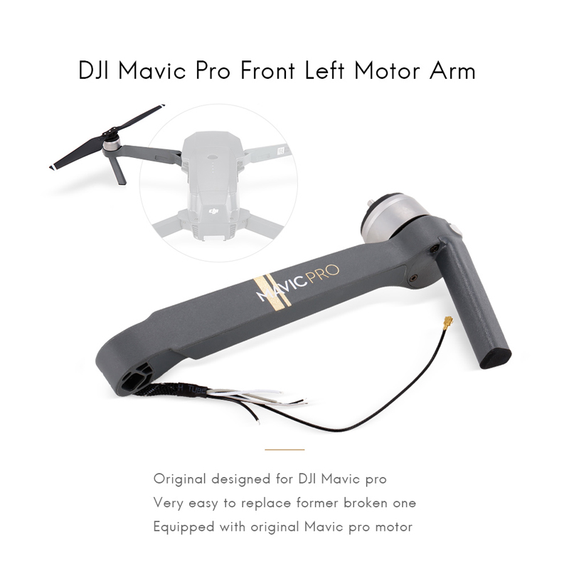 New DJI mavic pro parts accessiories Front Left Front Right Back Left Back Right arm with