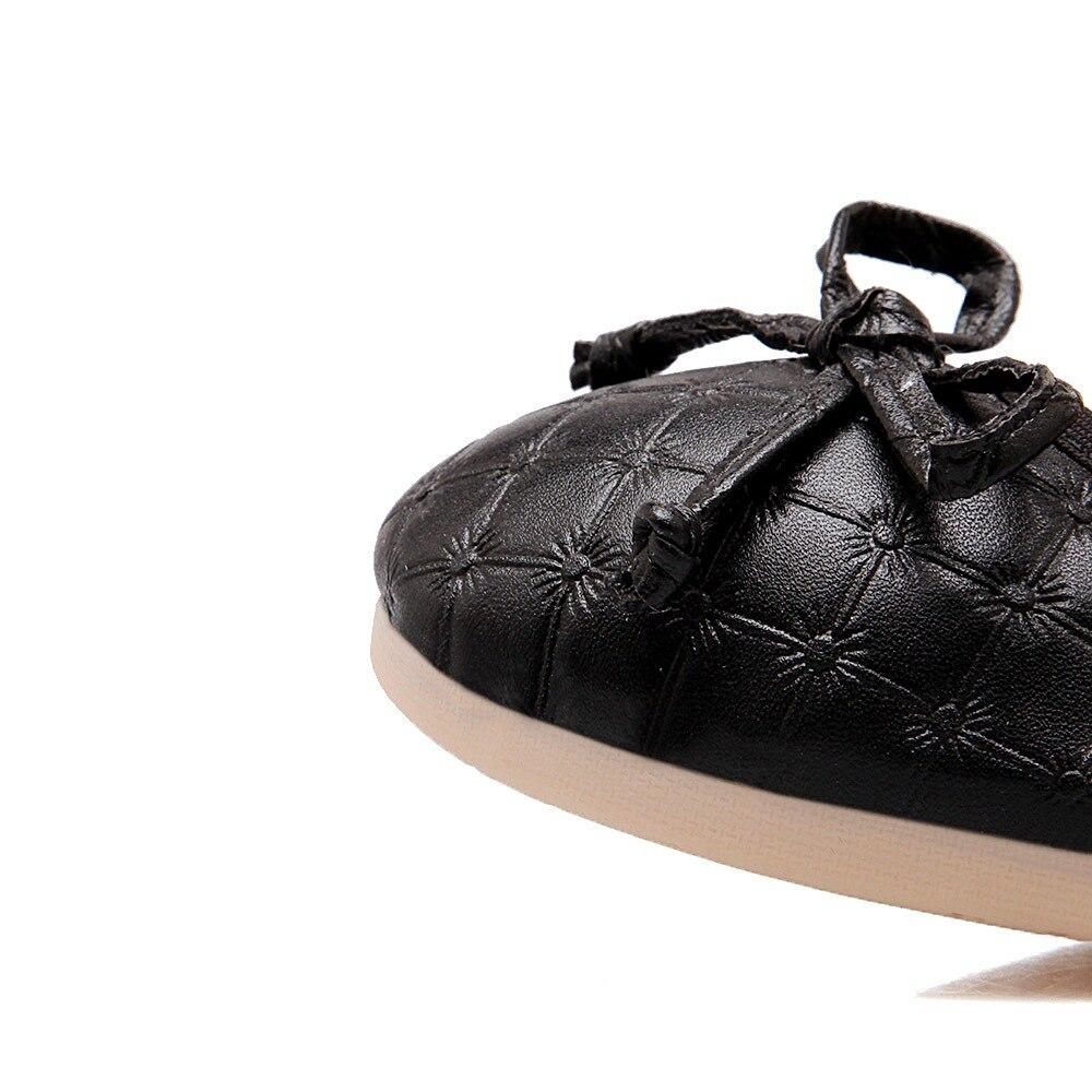 solido Nero Women 2018 Arrive Shallow Argento Shoes Autumn e Spring Colore Semplice College New confortevole Lady Asumer Style Bianco Flats wTx4qX6qn