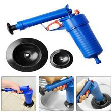 4 Suckers High Pressure toilet plunger Air Drain Blaster Sink Pipe Clog Cleaner ABS Plastic Dredge for Toilets Clogged Pipes