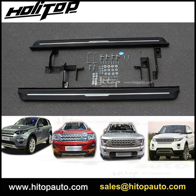 hot running board side step foot bar for Range Rover Discovery Sport Discovery 4 3 Freelander