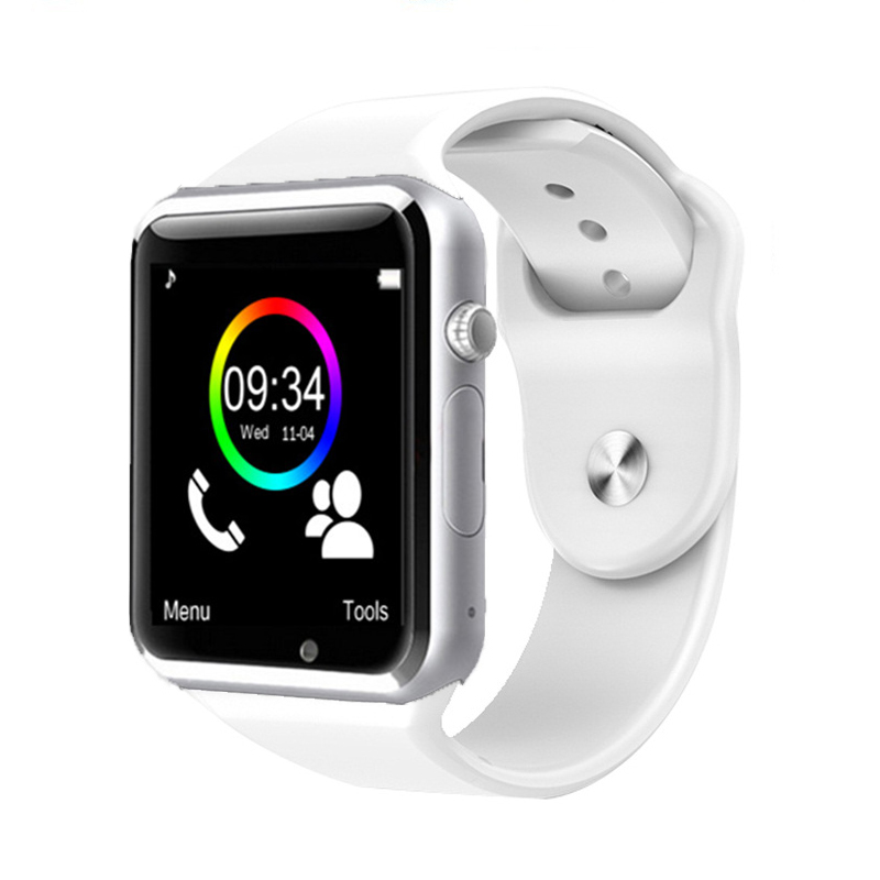Bluetooth smart watch in W8 & A1 Con TF SIM card della fotocamera Orologio Da Polso per IOS iphone Samsung supporto Android Smartwatch whatsapp