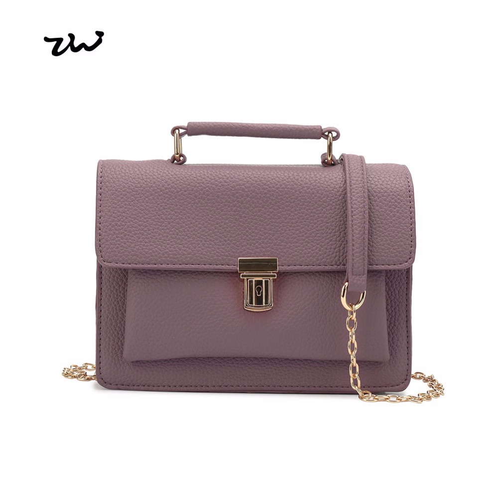 ZIWI Brand Small Messenger Bags Fashion European And American Style Girl Briefcase Lady Handbags
