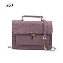 ZIWI Marke Kleine Messenger Bags Mode Europäischen Und Amerikanischen Stil Mädchen Aktentasche Dame Handtaschen SX087