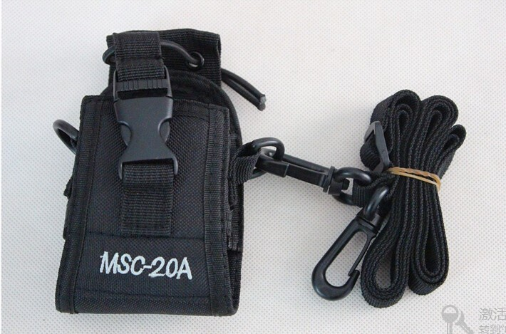Baofeng GT 3 mark II Nylon carry case bag MSC 20A for font b walkie b