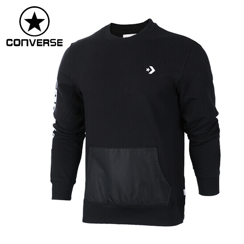 Original New Arrival 2017 Converse Men's Knitted Pullover Jerseys Sportswear original adidas men s knitted pullover ab4373 ab4374 jerseys sportswear free shipping page 10