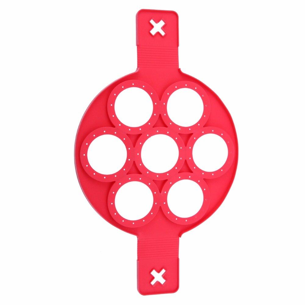 Paslanmayan Pancake Maker Yumurta Ring Silikon Mətbəx Pancake - Mətbəx, yemək otağı və barı - Fotoqrafiya 3