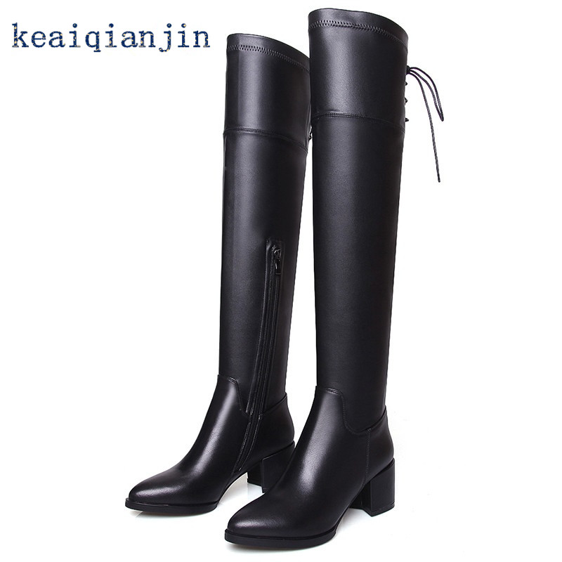 Online Get Cheap Long Leather Boots -Aliexpress.com   Alibaba Group