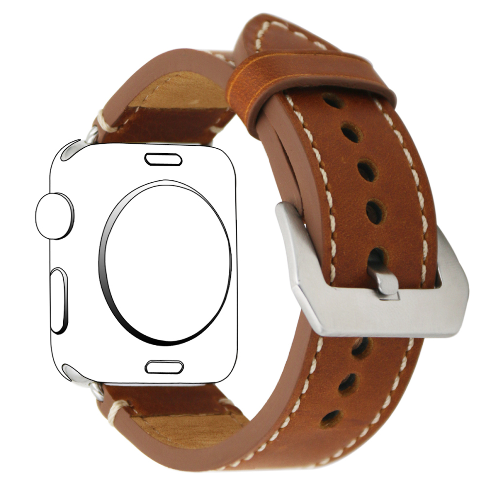 Watch Accessories Leather For Apple Watch Bands 44mm 40mm 42mm 38mm Series 4 3 2 5 Watch Strap for iWatch 4 Wrist Bracelet Belt