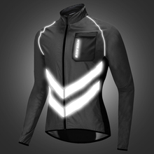 WOSAWE Motorcycle Jacket Reflective High Visibility Safety Vest Motocross Motorbike Windbreaker Waterproof off Road