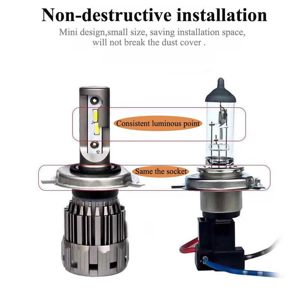 YOTONLIGHT Led Lamp H11 9005 9006 Led Headlight Bulb Canbus Error Free H4 9003 H7 HB2 HB3 HB4 Car Light 100w 12000lm 12V 6000K