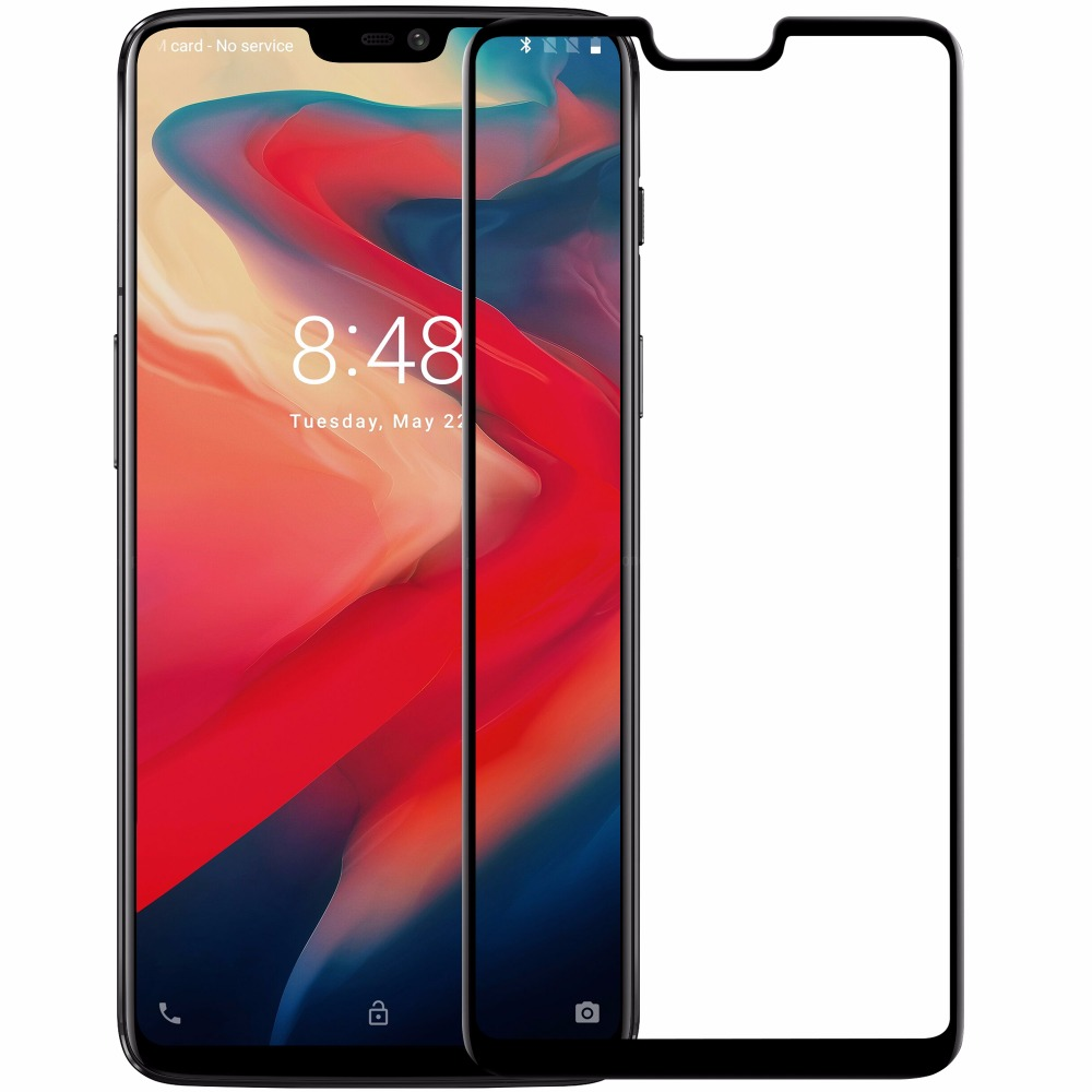 oneplus 6 Glass 3D Full Cover NILLKIN Amazing 3D CP+MAX Nano Anti-Explosion 9H Protective Glass Screen Protector for oneplus 6