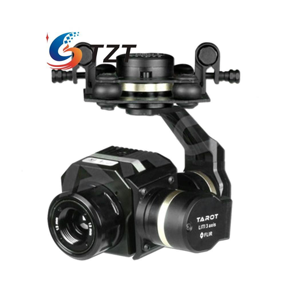 Tarot FLIR 3 Axis Cam Brushless Gimbal PTZ for FPV Drone TL02FLIR 2015 hot sale quadcopter 3 axis gimbal brushless ptz dys w 4108 motor evvgc controller for nex ildc camera