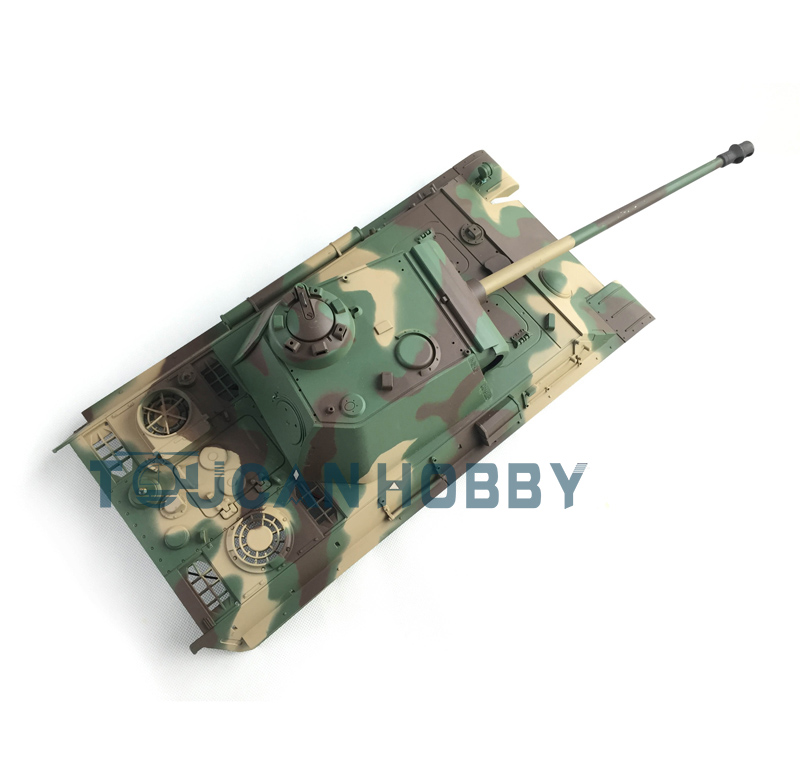 HengLong 1/16 Scale German Panther G RC Tank 3879 Plastic Upper Hull W/ Turret henglong 1 16 scale german stug iii rc
