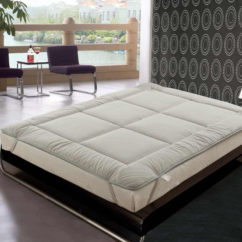 все цены на Thick Warm Foldable Single Or Double Mattress Fashion NEW Topper Quilted Bed Can Customizable