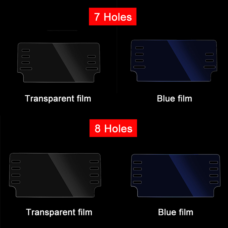 Image 5 - For Honda Accord 10th 2018 Car GPS Navigation Screen Steel Protective Film Dashboard Pain Protector Film Car Sticker Accessories-in Interior Mouldings from Automobiles & Motorcycles
