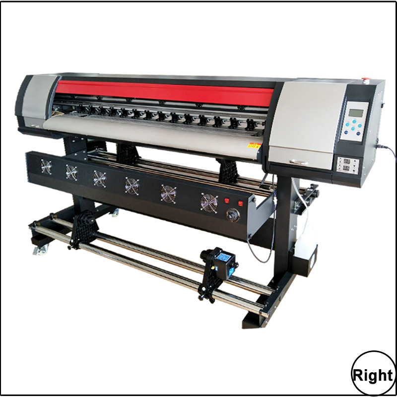 US $4300 0 |One Dx5 Head Sticker Printing Machine ,5 Feet Eco Solvent ink  Print Printer Graphic Paper Banners Eco Printer Solvent-in Printers from