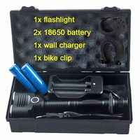 Aluminum Alloy 5 Switch Mode Zoomable Torch Hand Military Tactical Flash Light Torch Cree T6 2