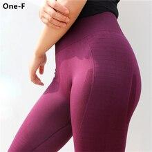 άκρη γόνατο παντελόνια γιόγκα ψηλά μέση κοιλιά έλεγχο καταλήψεων παντελόνια τεντώστε προπόνηση τσάντες συμπιεσμένα απρόσκοπτη αθλητικά γκέτες γυναίκες
