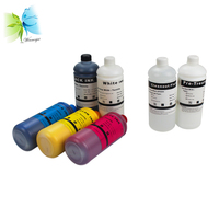 Winnerjet For Epson l800 1390 Tinta Textile Dtg Ink+Pretreatment Liquid+Cleaning liquid