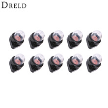 DRELD 10Pcs Carburetor Primer Bulb 530071835 For Poulan Chainsaws 1950 1975 2050 2150 2375 Lawnmower Blower Engine Garden Tools