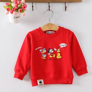 T-Shirts Long-Sleeve Toddler Baby Cotton Print O-Neck G190 Audel Character Kids