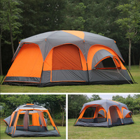 2018 on sale 6 8 10 12 person 2 bedroom 1 living room awning sun shelter party family hiking beach fishing outdoor camping tent
