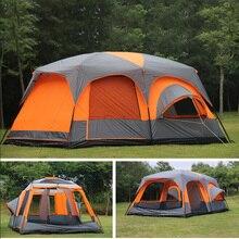 2020 auf Verkauf 6 8 10 12 Person 2 Schlafzimmer 1 Wohnzimmer Markise Sonnendach Party Familie Wandern Strand angeln Outdoor Camping Zelt