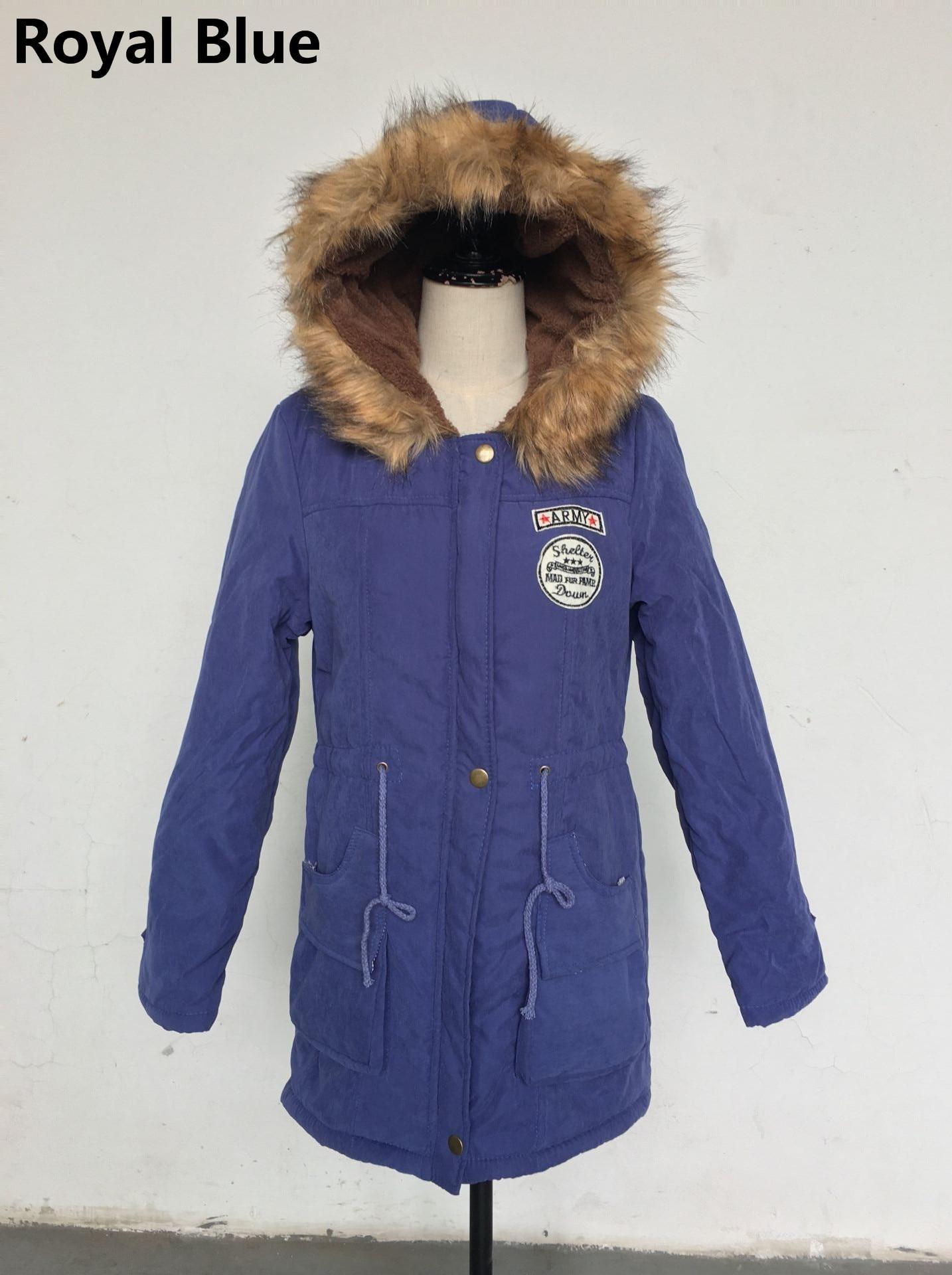 HTB1BXRloN1YBuNjy1zcq6zNcXXai Women Parka Fashion Autumn Winter Warm Jackets Women Fur Collar Coats Long Parkas Hoodies Office Lady Cotton Plus Size