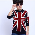 New Hot Sale Boys Sweater Fashion Autumn and Winter Children Pullovers Sweaters Boy Korean Knit Sweater For 6-14 Years