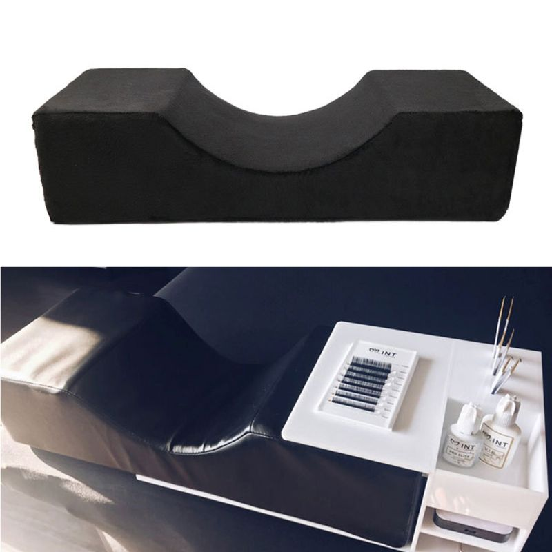 Professional Grafted Eyelash Extension Pillow Cushion For Salon Home Use