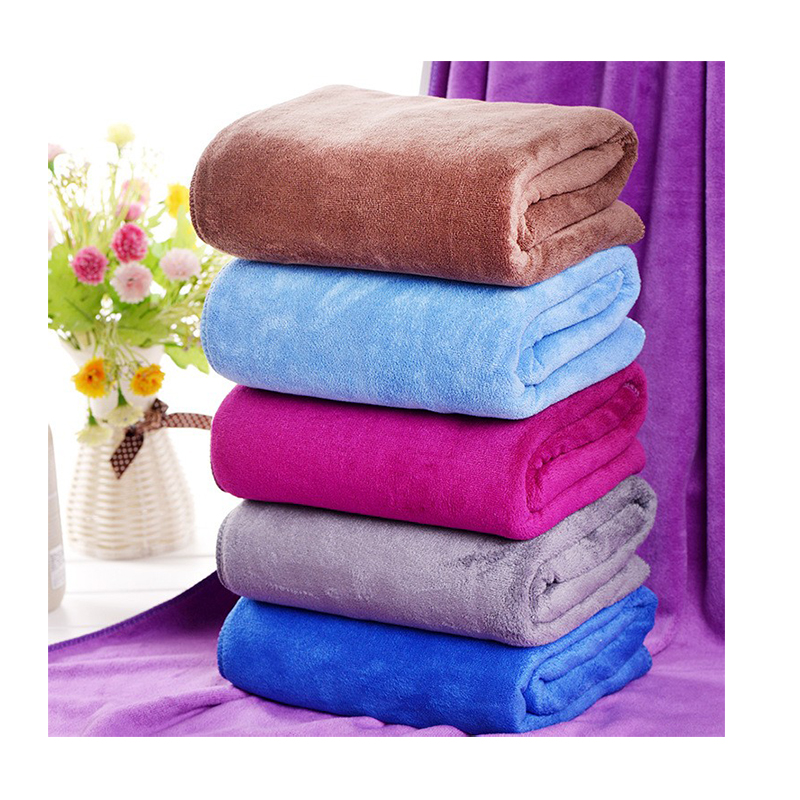 Bath Towels Sale: Hot Sale Absorbent Bath Towel 140x70cm Microfiber Towel