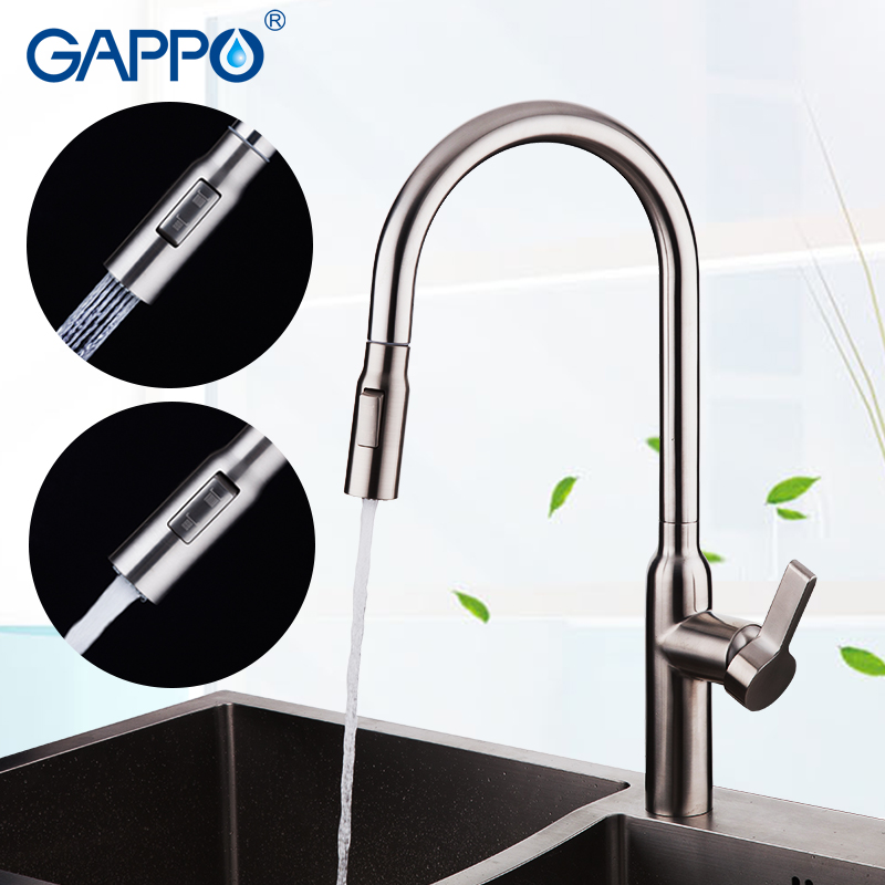 GAPPO Kitchen Faucet Tap  Sink Faucet Water Mixer Tap Kitchen Faucets Sink Tap Stainless Steel Kitchen Tap