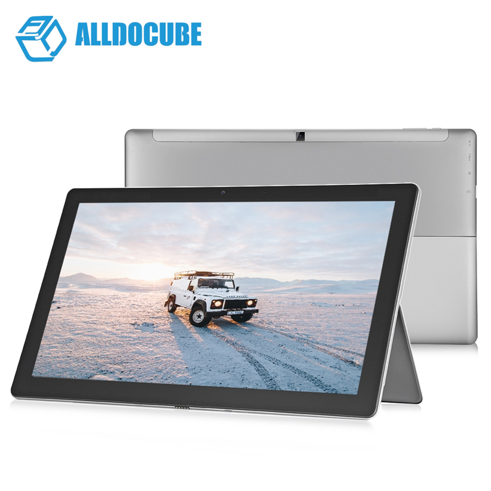 ALLDOCUBE KNote8 2 in 1 Tablet PC 13.3 inch 2K Screen Windows 10 Intel Core M3-7Y30 Dual Core 1.0GHz 8GB RAM 256GB SSD Tablet
