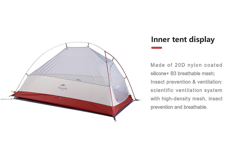 Naturehike CloudUp 1 Tent - 20D