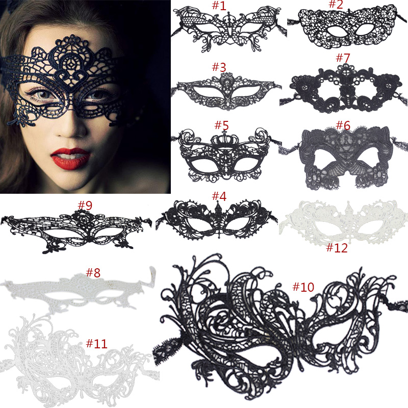 New Fashion Eye <font><b>Mask</b></font> <font><b>Sexy</b></font> <font><b>Lace</b></font> Venetian Masquerade Ball <font><b>Halloween</b></font> Party Fancy Dress Costume NE image