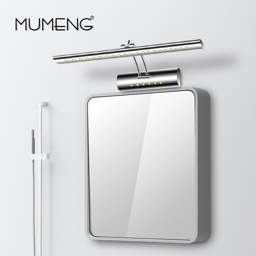 mumeng LED Wall Lamp Modern Bathroom Mirror Light 5W Adjustable head ...