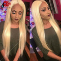 #613 Lace Front Wig Silky Straight Glueless Full Lace Wigs 8A Chinese Virgin Human Hair Wigs For Black Women 130% Density