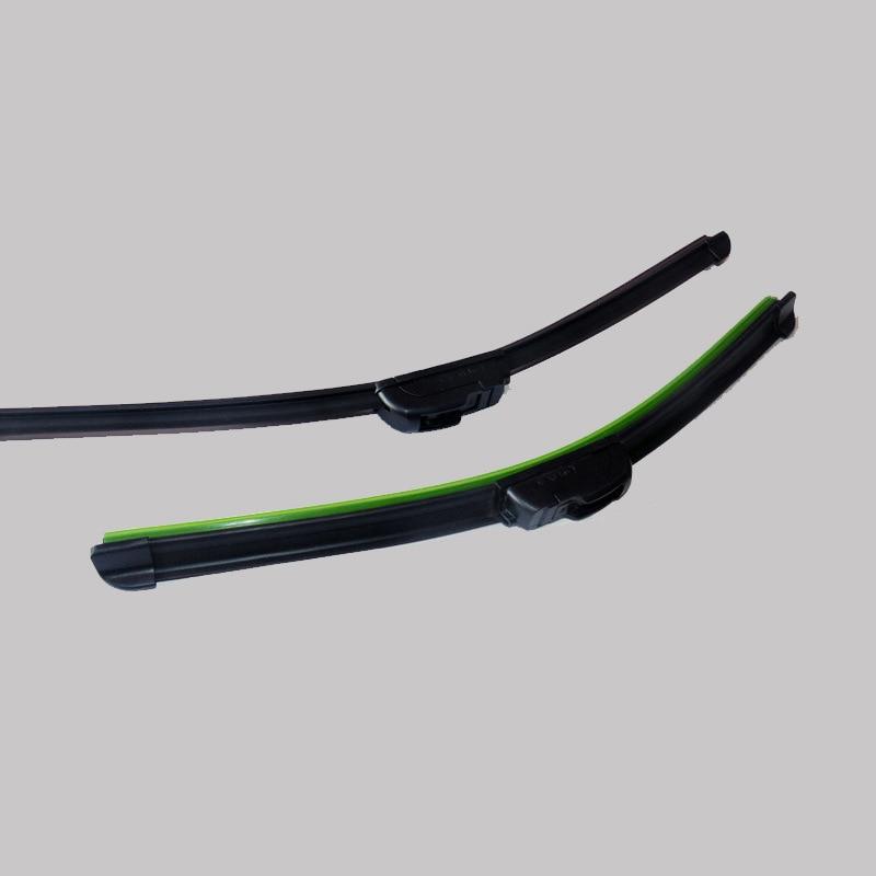 U-type Soft Frameless Bracketless Rubber Car Windshield Wiper Blade for Mercedes-Benz AMG E 63 2018