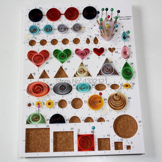 New Arrival Quilling Design Board, Quilling Workboard
