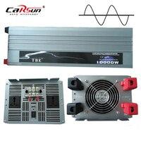 10000 Вт Чистая синусоида солнечный Мощность инвертор DC 12 В 24 В 48 В к AC 220 В 110 В преобразователя адаптер с USB Зарядное устройство пик Мощность 20000