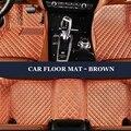 LUNDA Custom fit esteiras do assoalho do carro para Citroen C4 C5 Ar Cruz DS5 C4L C-elysee Picasso C2 LS 3d estilo do carro tapete do assoalho liner