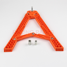 Off-road motorcycle general tripod frame folding plastic triangular temples A-shaped